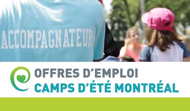 Camps d'été 2019 : l'AQEPA Montréal Régional recrute!