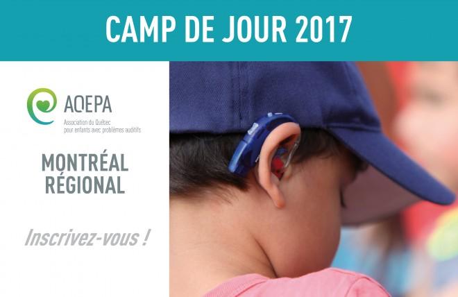 Camp de jour 2017