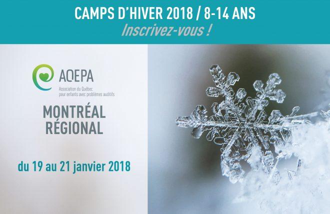 camp hiver 2018 MTL