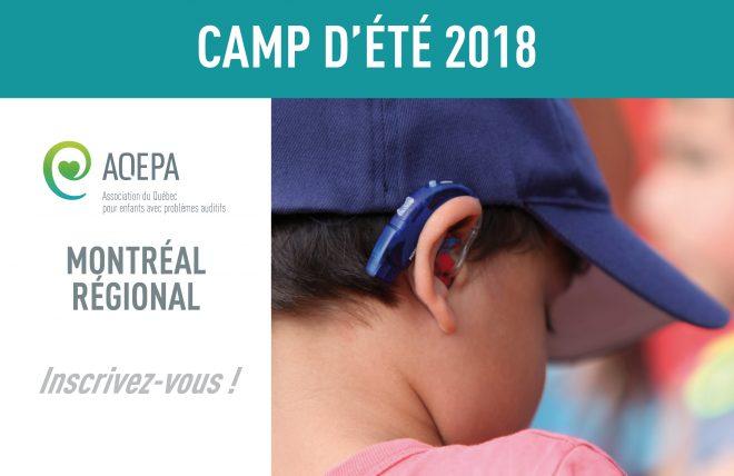 Camp été 2018