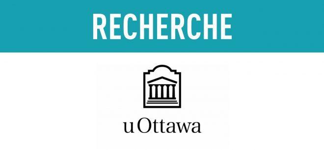 Invitation à participer à un projet de recherche - Université d'Ottawa