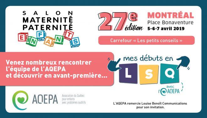 Salon Maternité Paternité Enfants 2019 / Montréal