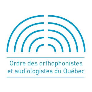 Ordre des orthophonistes et audiologistes du Québec logo