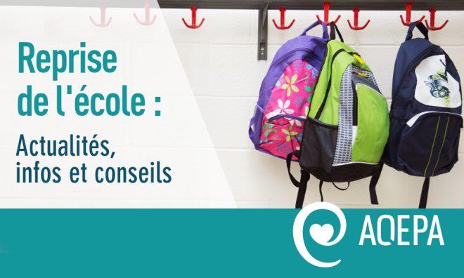 Reprise de l'école : actus, infos et conseils