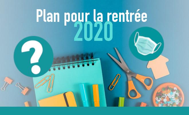 titre plan rentrée 2020