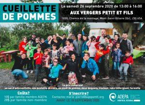 AQEPA Montréal Régional : Sortie aux vergers Petit et fils