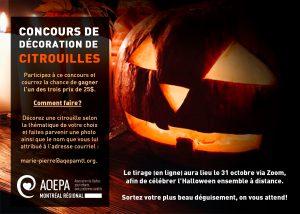 AQEPA Montréal Régional : concours de décoration de citrouilles