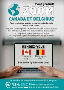 AQEPA Montréal Régional : visite de la Belgique !