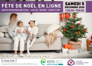 AQEPA Montréal Régional : Fête de Noël virtuelle