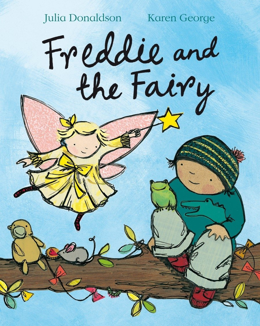 couverture Freddie and the Fairy