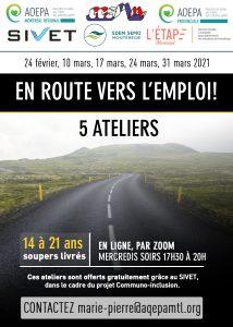 AQEPA Montréal Régional : Ateliers « En route vers l'emploi! »
