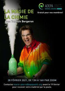 AQEPA Montréal Régional : La magie de la chimie!