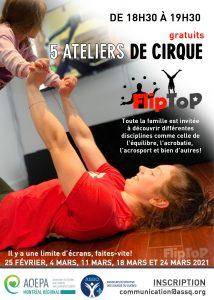 AQEPA Montréal Régional : Ateliers de cirque virtuels
