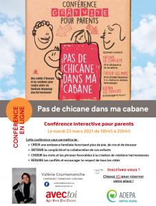 AQEPA Montréal Régional : Deux conférences par Valérie Courtemanche